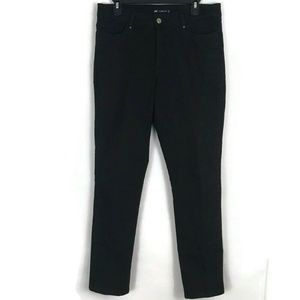 Lee Womens Jeans Size 14M Classic Fit Black Mom
